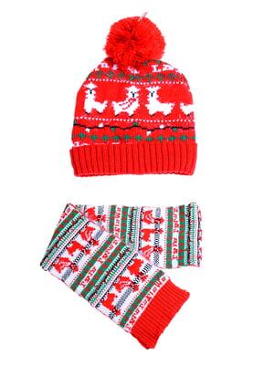 Комплект: шапка и шарф | 5326652