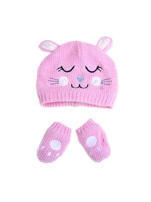 Комплект: шапка и рукавицы | 5326658