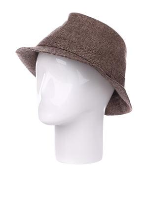 Шляпа коричневая | 5326659