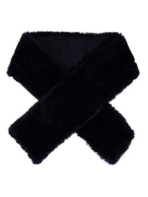 Шарф черный | 5326681