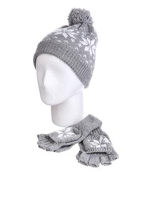 Комплект: шапка і рукавички | 5326714