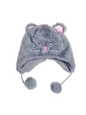 Шапка сіра «Мишка» | 5326719