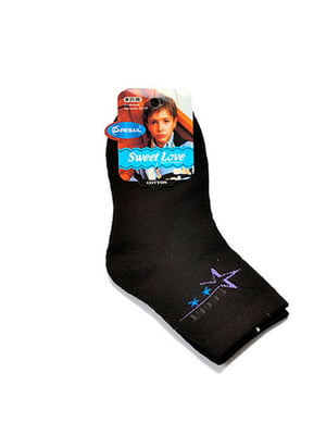 Шкарпетки чорні | 5326725