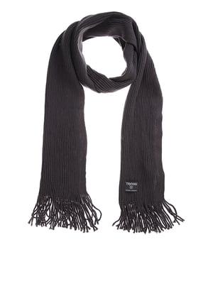 Шарф темно-серый   5326736