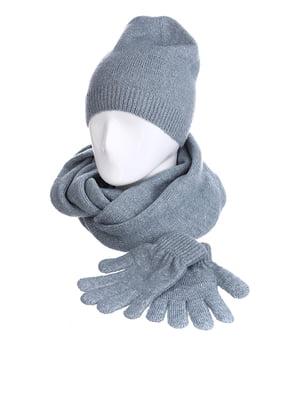 Комплект: шапка, шарф і рукавички | 5326875