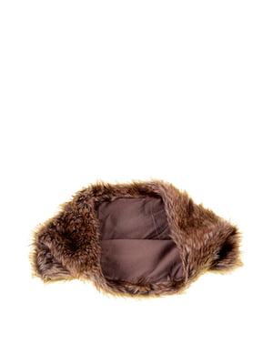 Шарф-хомут коричневий | 5326581