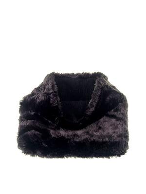 Шарф-снуд чорний   5326582
