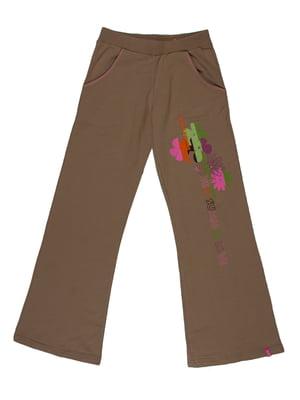 Штани кольору хакі | 5323202
