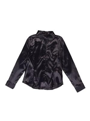 Сорочка чорно-сіра | 5323310