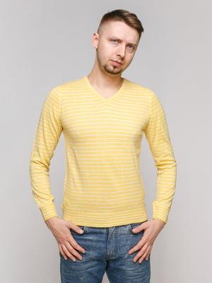 Пуловер желтый   5324235