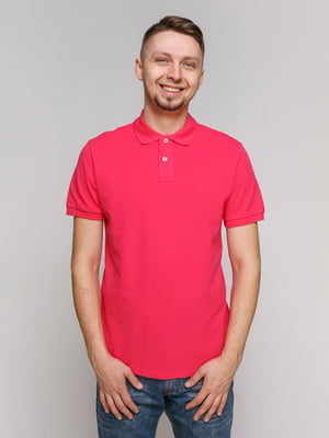 Футболка-поло рожева | 5324212