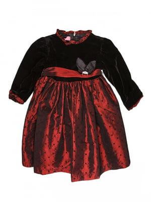 Сукня червоно-чорна | 5326988