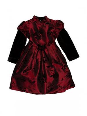 Сукня червоно-чорна | 5326990