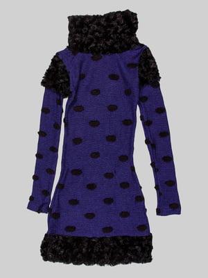 Платье сине-черное | 5326996