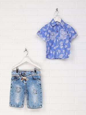 Костюм: сорочка та шорти | 4305444