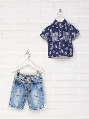 Костюм: сорочка та шорти | 4305445