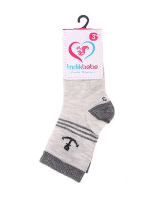 Шкарпетки сірі | 4918729