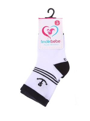 Шкарпетки білі | 4918730