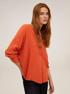 Рубашка оранжевая | 5322969