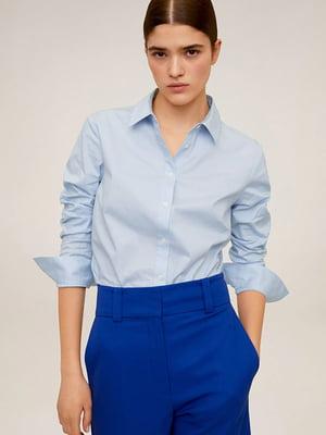 Рубашка голубая | 5322956