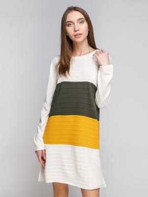 Платье трехцветное   4481263