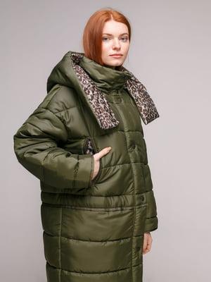Куртка оливкова | 5287990