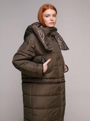 Куртка кольору хакі | 5294402