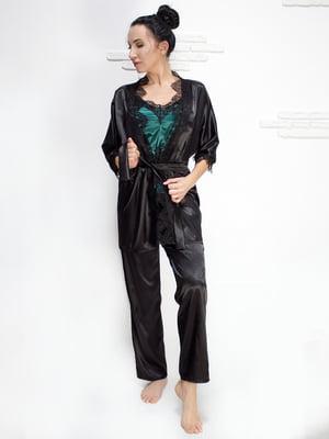 Комплект: майка, халат і штани | 5303158
