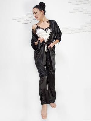 Комплект: майка, халат і штани | 5303159