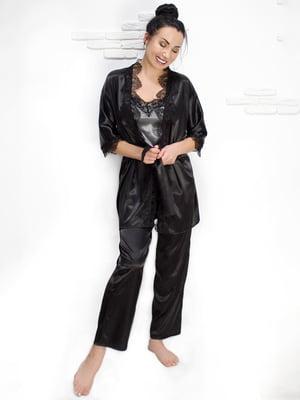Комплект: майка, халат і штани | 5303160