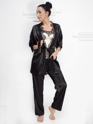 Комплект: майка, халат і штани | 5303168
