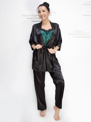 Комплект: майка, халат і штани | 5303175