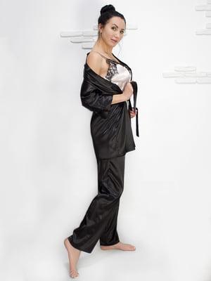 Комплект: майка, халат і штани | 5303177