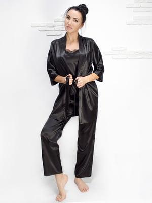 Комплект: майка, халат і штани | 5303181