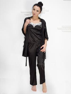 Комплект: майка, халат і штани | 5303184