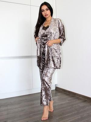 Комплект: майка, халат и брюки | 5303200