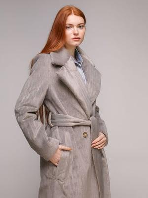 Пальто серо-бежевое | 5287988