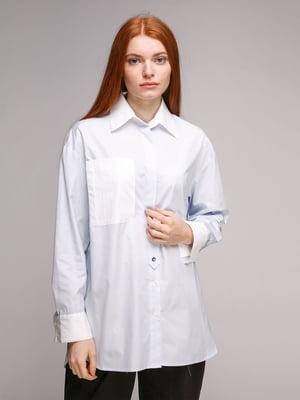 Блуза голубая | 5318966