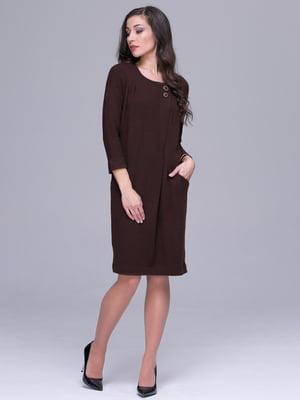 Платье коричневое | 5327066