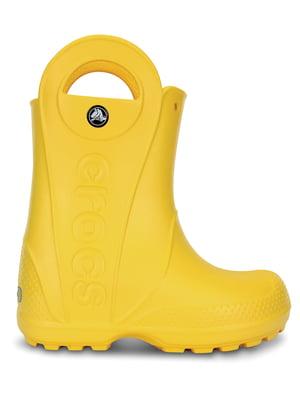 Чоботи жовті | 5330725