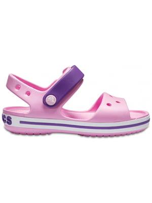 Сандалії рожево-фіолетові | 5330730