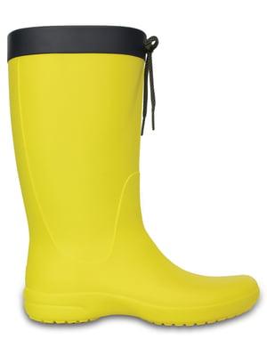 Сапоги желтые   5330839