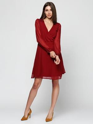Сукня бордова | 5326127