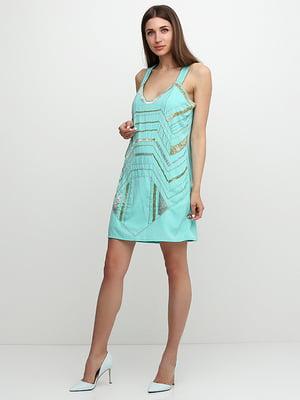Сукня бірюзова | 5326130