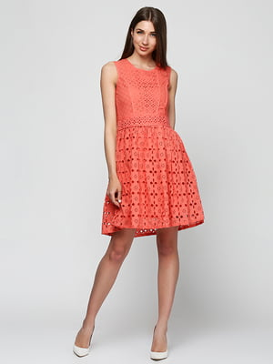 Платье коралловое | 5326561