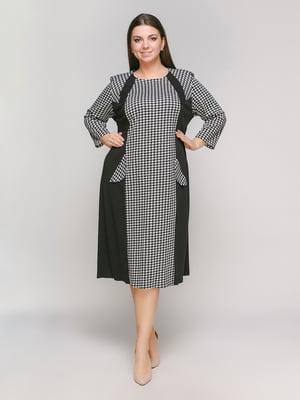 Сукня чорно-біла | 5316993