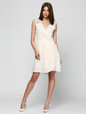 Платье бежевое | 5326605