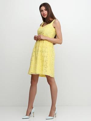 Платье желтое | 5326713