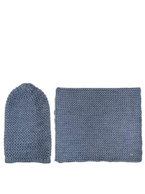 Комплект: шапка і шарф | 5327680
