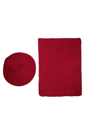 Комплект: берет и шарф | 5327685